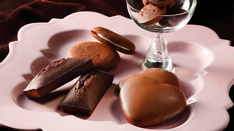 アンリシャルパンティエのバレンタインチョコレートイメージ