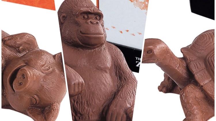 ズーロジー(ZOOLOGY)の動物型チョコレート